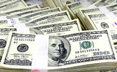 الدولار في هبوط