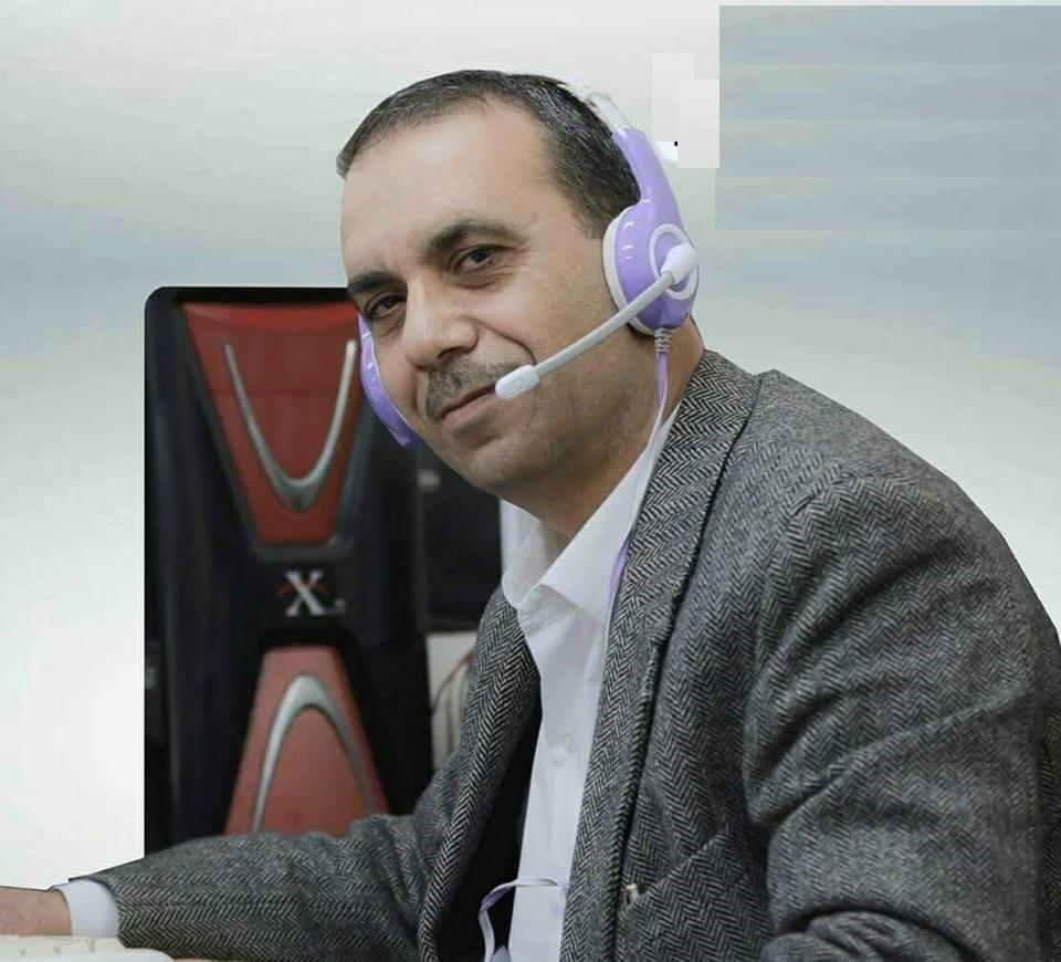 الكاتب والصحفي عاطف المشهراوي