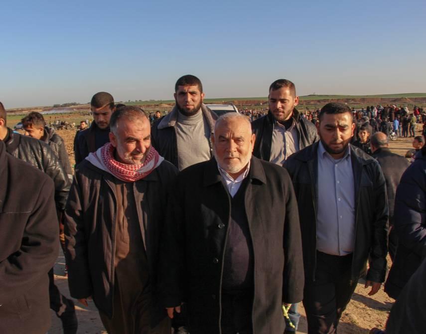 النائب الأول لرئيس المجلس التشريعي في غزة أحمد بحر