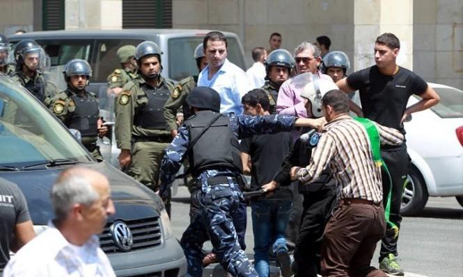 """صورة """"أرشيفية"""" لإعتقالات شنتها أجهزة السلطة في الضفة"""