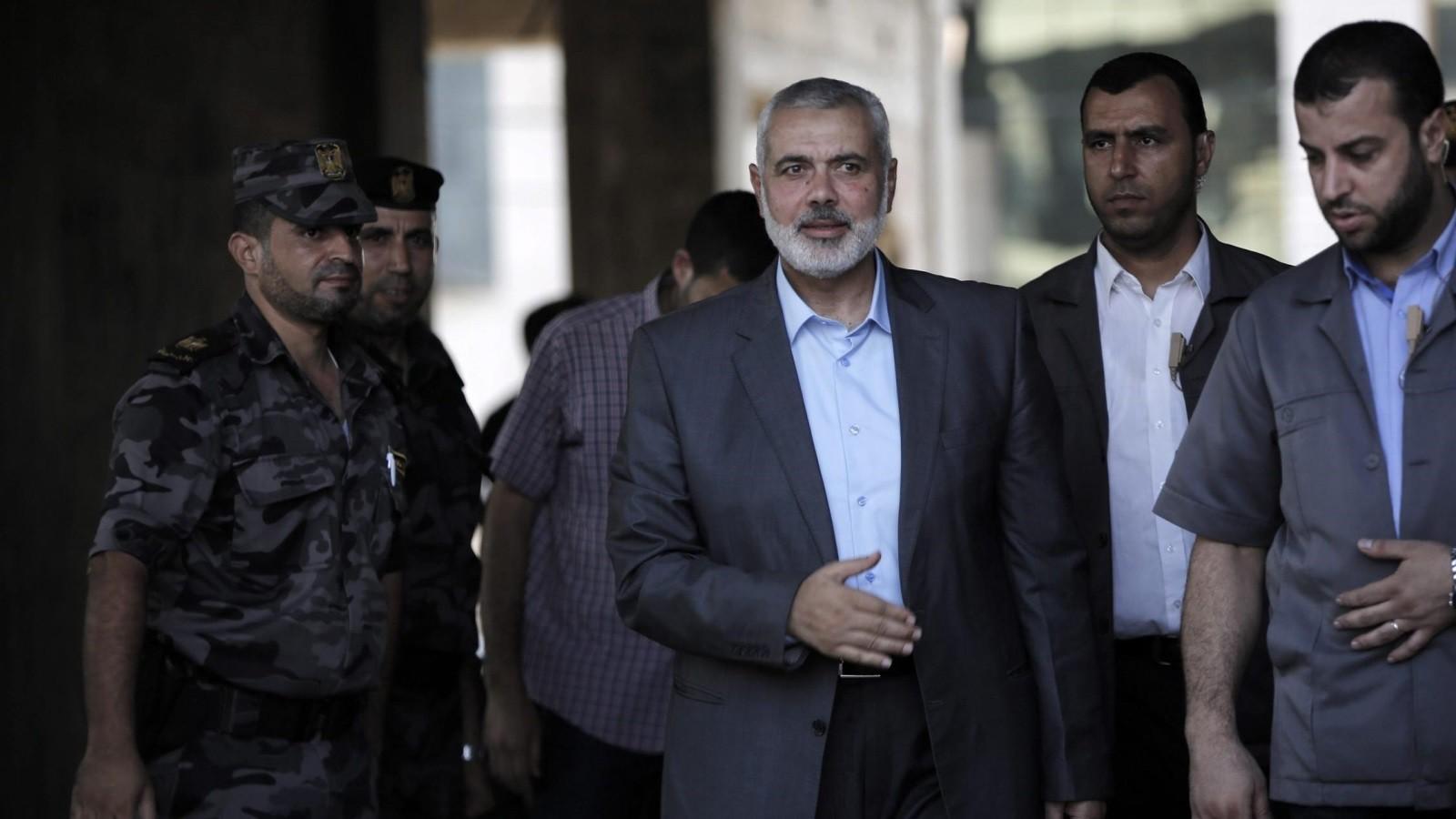 صحيفة : وفد من حماس برئاسة هنية يتوجه للقاهرة هذا الاسبوع