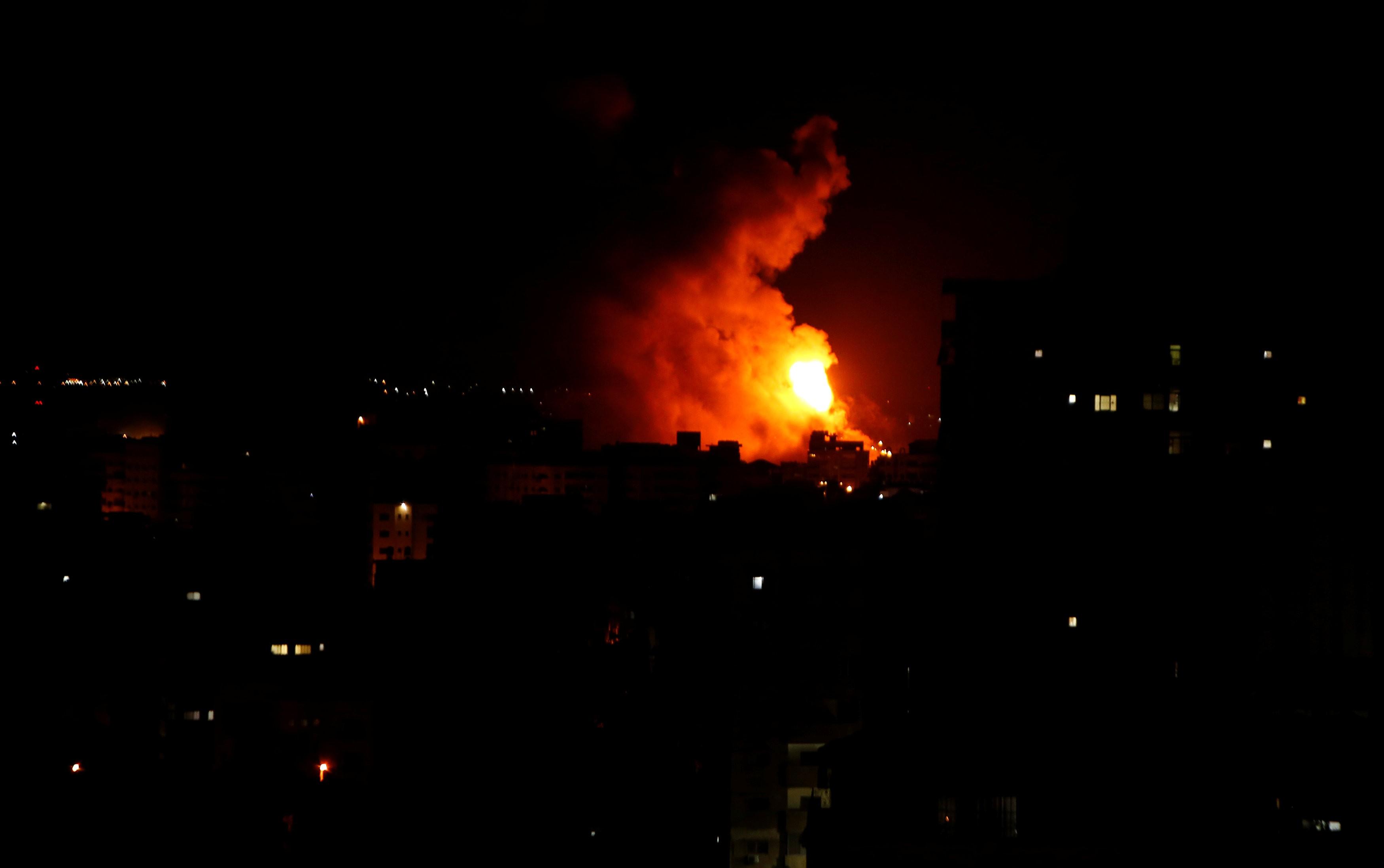 غارات إسرائيلية على مواقع للمقاومة في غزة