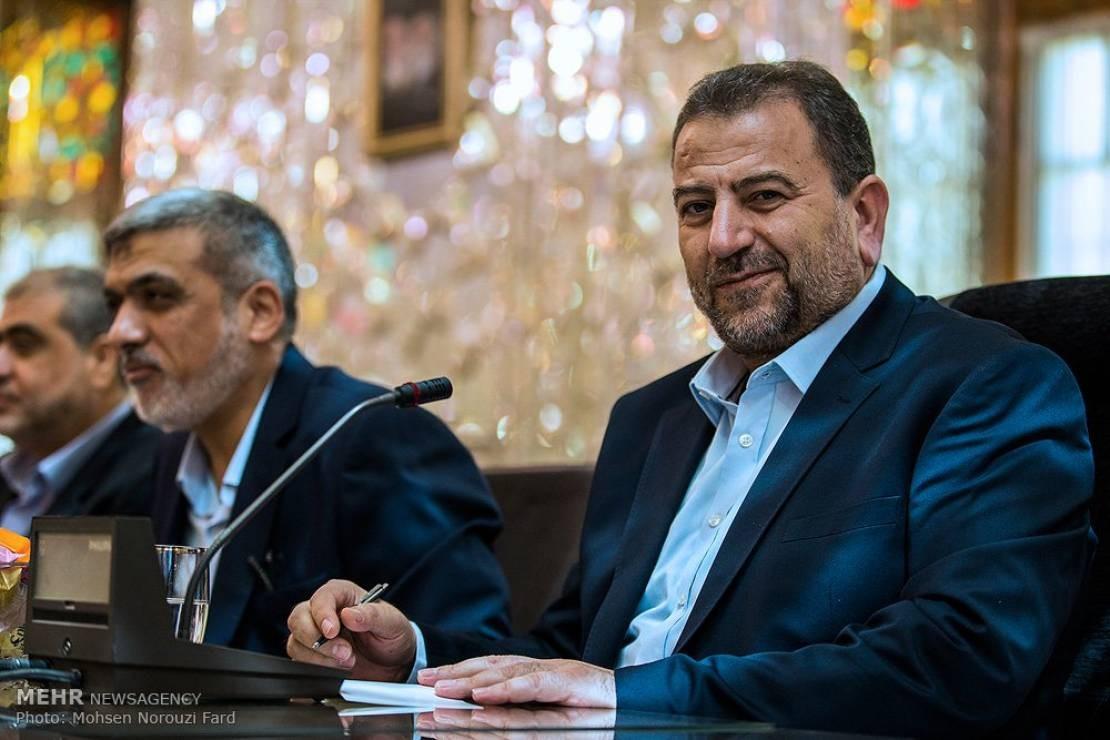 """حماس تندد بدعوة غريبنلات لملاحقة """"العاروري"""""""