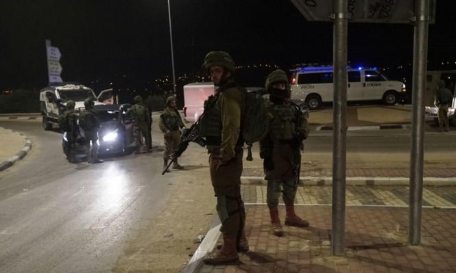 إطلاق نار على قوة لجيش الاحتلال جنوب نابلس دون إصابات