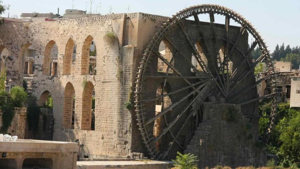 صورة مرقمنة لأحد معالم مدينة حلب ضمن مشروع فني لإحياء الإرث الحضاري السوري افتراضياً في برلين