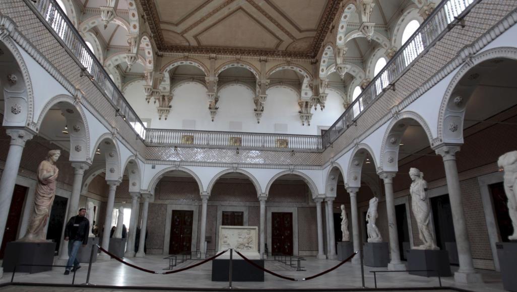 المتحف يقع في مدينة باردو القريبة من تونس العاصمة