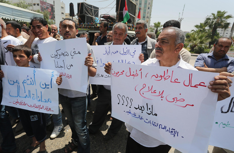 لإحصاء في يوم العمال: 52% نسبة البطالة في قطاع غزة