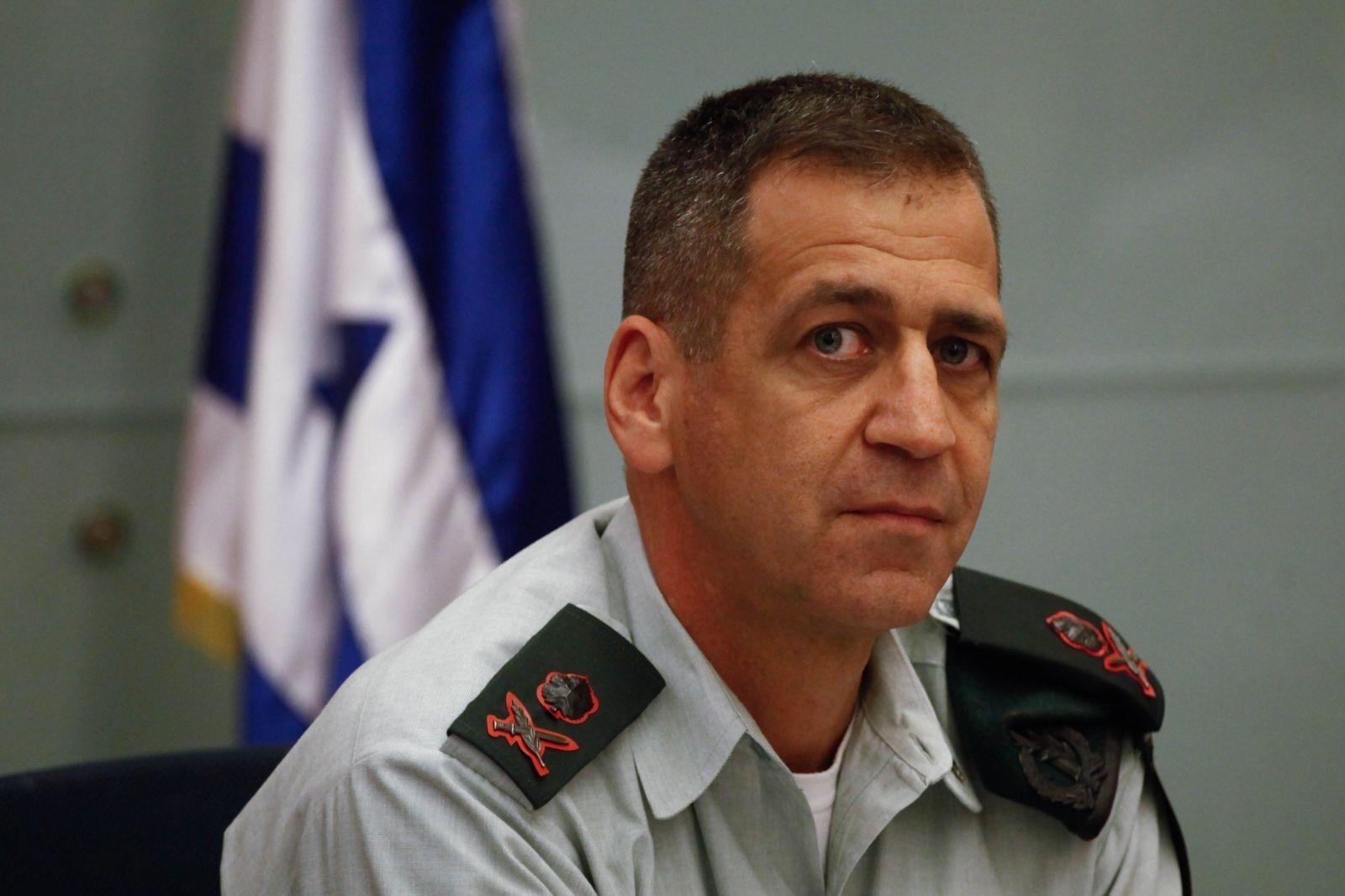 رئيس أركان جيش الاحتلال الإسرائيلي أفيف كوخافي