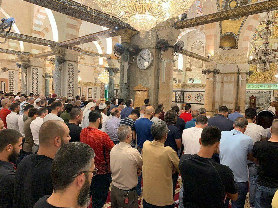 صورة خلال الصلاة