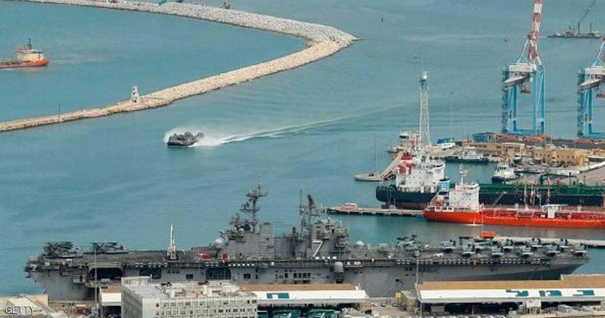 ميناء حيفا المحتلة