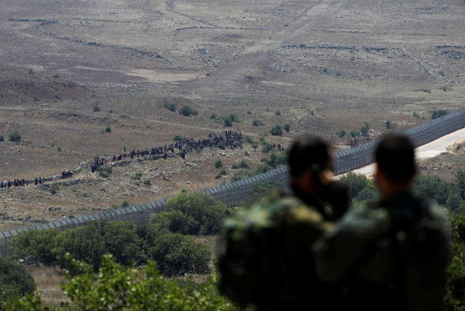 إطلاق صواريخ مضادة للطائرات من سوريا باتجاه اسرائيل