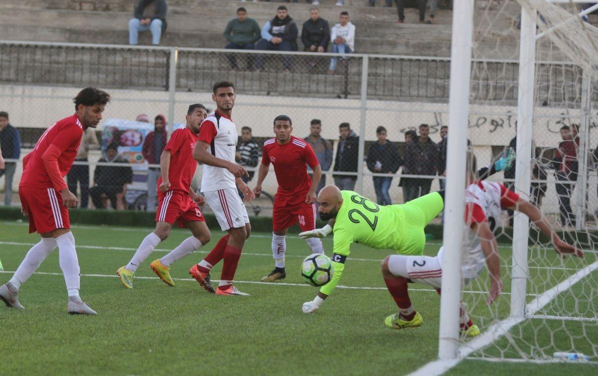 جانب من أحد المباريات السابقة لغزة الرياضي