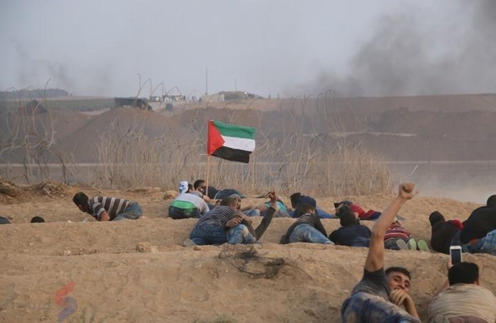 مسيرات العودة القانون الديناميكي الجديد في ساحة حماس
