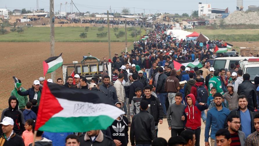 الهيئة الوطنية: لا مسيرات عودة على حدود غزة الجمعة المُقبل