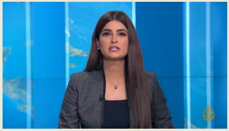 بالفيديو: الإعلامية علا الفارس في ظهورها الأول على قناة الجزيرة