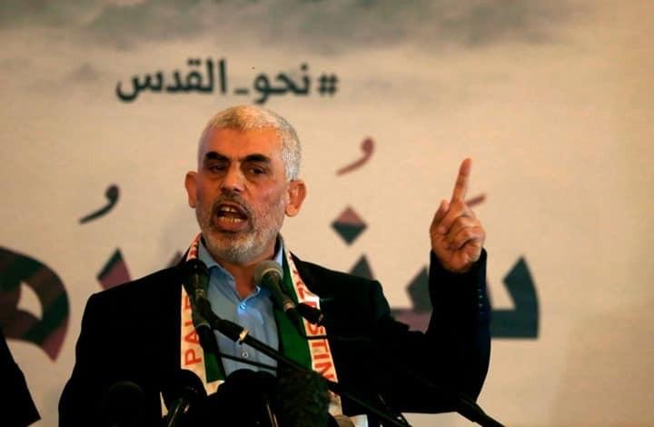 قائد حركة حماس في قطاع غزة السنوار