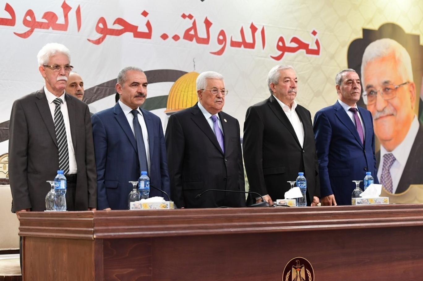 قادة السلطة الفلسطينية