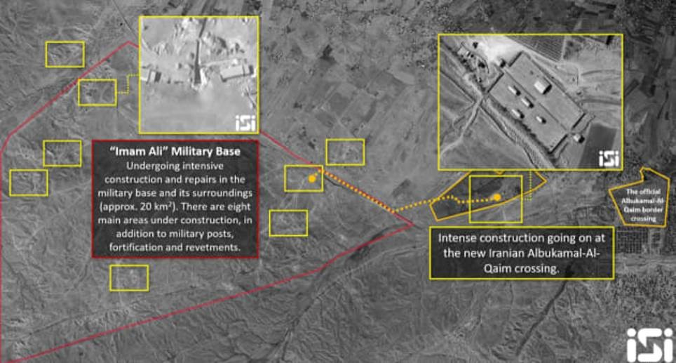 إعلام عبري: إيران تبني نفقا بالبوكمال السورية لتخزين صواريخ
