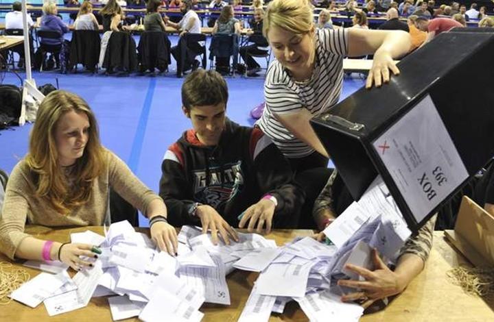 البريطانيون يدلون بأصواتهم لانتخاب ممثليهم في البرلمان