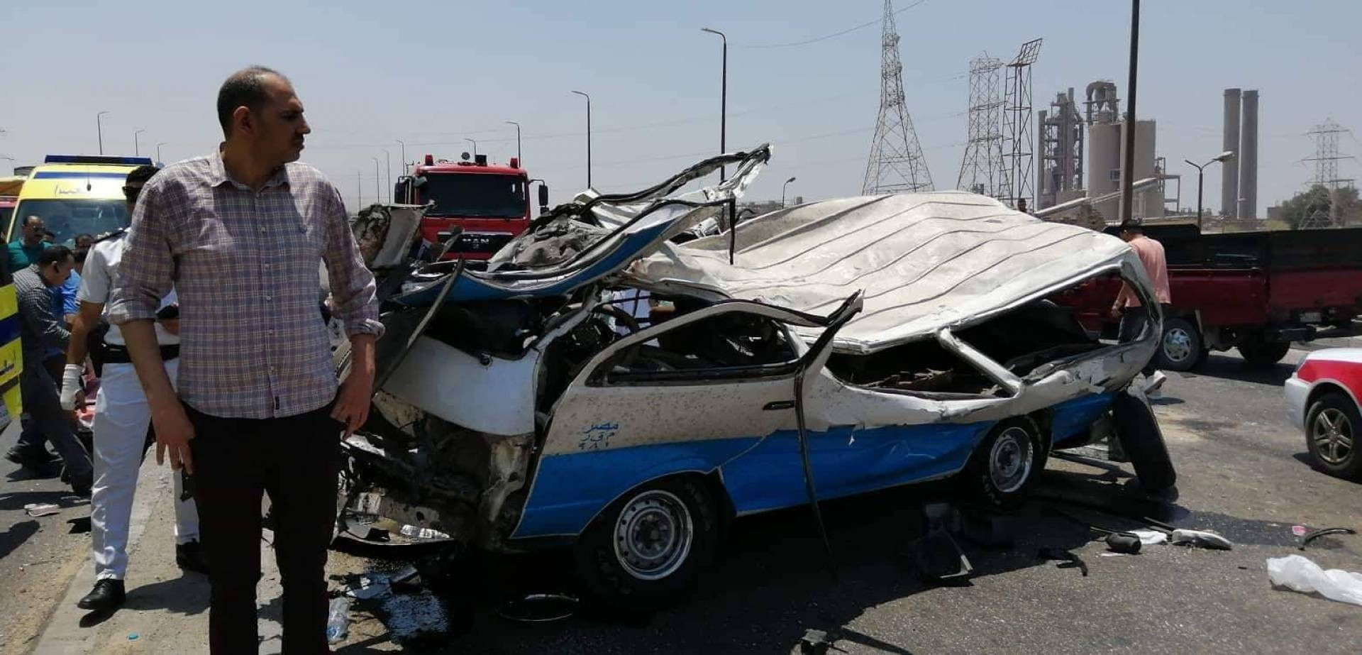 مصرع سيدة وإصابة طفلتها بحادث مروري بغزة