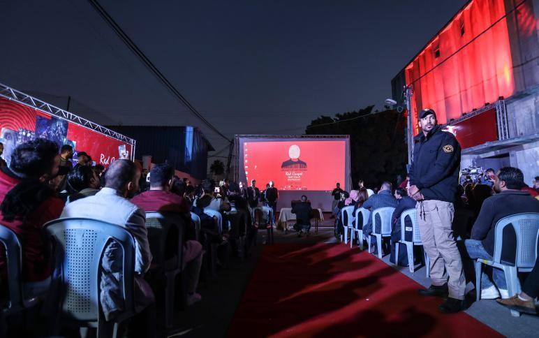 """انطلاق مهرجان """"السجادة الحمراء"""" في غزة"""