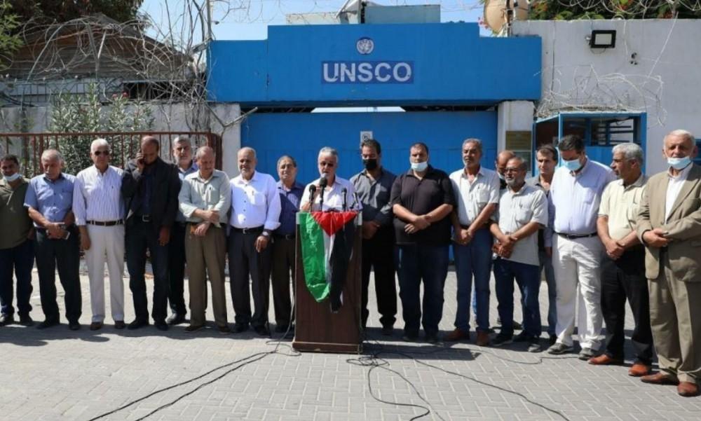 """الفصائل تُسلم الأمم المتحدة مذكرة احتجاج ضد """"اتفاق الإطار"""""""