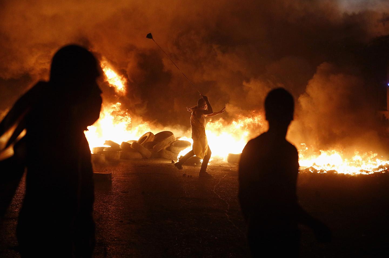 خلال مواجهات مع قوات الاحتلال