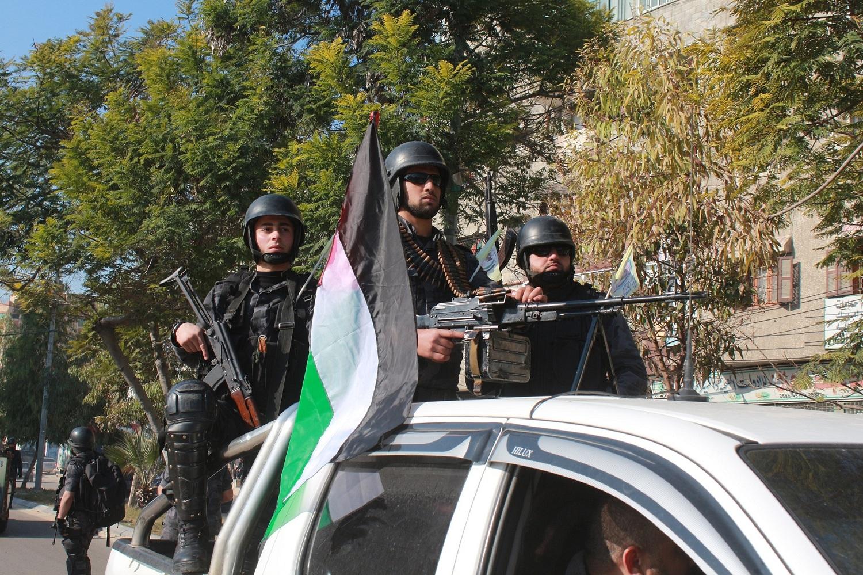 الشرطة الفلسطينية في غزة (أرشيف)