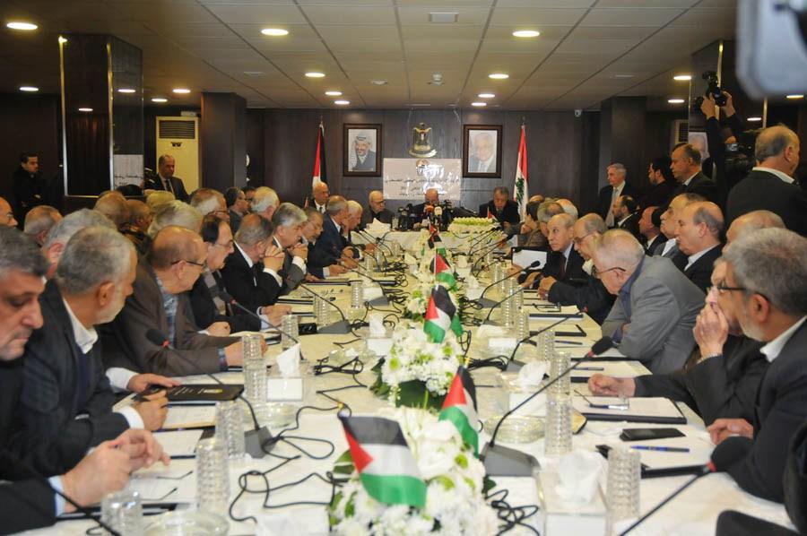 اجتماع اللجنة التحضيرية للمجلس الوطني في بيروت